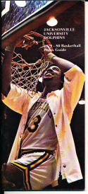 1979-1980 Jacksonville University Basketball Press Media Guide