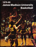 1979-1980 james madison Basketball Press Media Guide