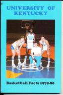 1979-1980 Kentucky Basketball Press Media Guide
