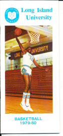1979-1980 Long Ilsand University Basketball Press Media Guide
