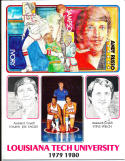1979-1980 Louisiana Tech university Basketball Press Media Guide