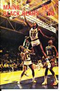 1979-1980 maine Basketball Press Media Guide
