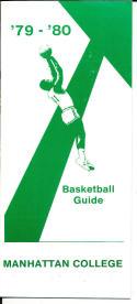 1979-1980 Manhattan college Basketball Press Media Guide