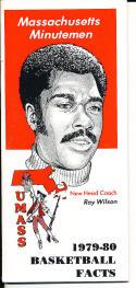 1979-1980 Massachusetts Basketball Press Media Guide roy wilson