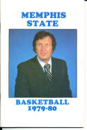 1979-1980 Memphis state Basketball Press Media Guide