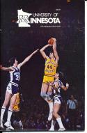 1979-1980 Minnesota Basketball Press Media Guide