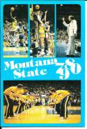 1979-1980 Montana State Basketball Press Media Guide