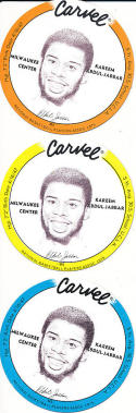 1976 MSA Basketball Carvel Disc Set 36 near mint/mint