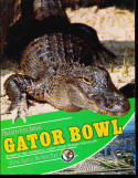 1980 Gator bowl  Football program Florida State vs Oklahoma State