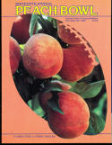 1983 Florida State vs North Carolina  Peach Bowl Football program