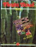 1985 Fiesta Bowl Football program nm UCLA vs Miami