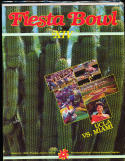 1985 UCLA vs Miami Fiesta Bowl Football Program