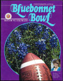 1986 Bluebonnet  Bowl Football program Baylor vs Colorado