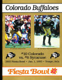 1993 Fiesta Bowl Football guide Colorado