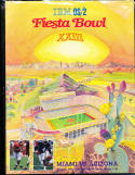 1994 Fiesta Bowl Football program nm Miami vs Arizona