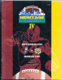 1994 South Carolina state vs Grambling state Heritage Bowl Football program