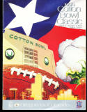 1996 Cotton Bowl football program Oregon vs Colorado