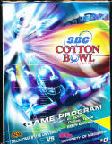 2004 Cotton Bowl football program Oklahoma state vs Mississippi