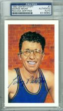 george Mikan Signed Center Court psa/dna