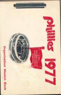 1977 Philadelphia Phillies Organization sketch Book