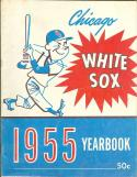 chicago White Sox 1955 Light Blue version yearbook