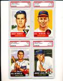1953 topps #230 Johnny Lindell psa 6
