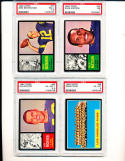 1962 Topps Rams Team #89 psa 6 nm Rams