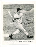1956 Ted Williams Boston Red Sox  Rawling Sporting Goods Advisory Card 8x10 p
