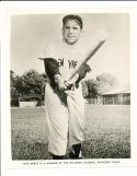 1956 Yogi Berra New York Yankees  Rawling Sporting Goods Advisory Card 8x10 p
