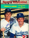 1973 8/20 sports illustrated no label signed  Bill Russell Los Angeles Dodgers
