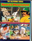 1974 10/21  sports illustrated no label newsstand Bill Buckner signed psa/dna
