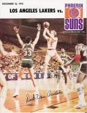 Basketball December 25, 1973 - Los Angeles Lakers and Phoenix Suns