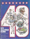 Kansas City Royals 1973 All-Star Game Program