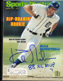1980 3/24 sports illustrated Kirk Gibson 88 nl mvp tigers psa/dna