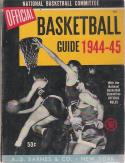 The Official 1944-45  Basketball Guide
