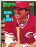 1984 8/27 sports illustrated Pete Rose Reds newsstand