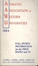 1964 Athletic Association of Western Universities Media Guide