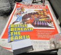 1968 Battle Beneath the Earth large 5 ft movie poster
