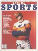 1980 April 30, Inside Sports Magazine - Baseball Nolan Ryan, Astros - 1st Issue