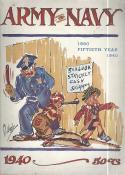 Navy vs. Army - November 30, 1940 Football Program - bx largefb