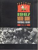 Notre Dame 1967 Football Media Guide