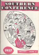 Southern Conference 1957 Football Media Guide