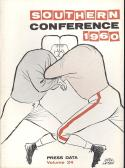 Southern Conference 1960 Football Media Guide