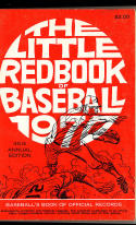 Little Red Book of Baseball 1970 soft bound
