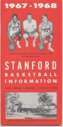 Stanford 1967 - 1968 Basketball Media Guide