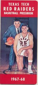 Texas Tech Red Raiders 1967 - 1968 Basketball Media Guide