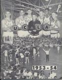 UCLA Bruins 1953 - 1954 Basketball Media Guide John Wooden