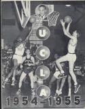 UCLA Bruins 1954 - 1955 Basketball Media Guide John Wooden