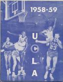 UCLA Bruins 1958 -59 Basketball Media Guide-em                    Bx CBMG