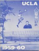 UCLA Bruins 1959 - 1960 Basketball Media Guide-em                   Bx CBMG